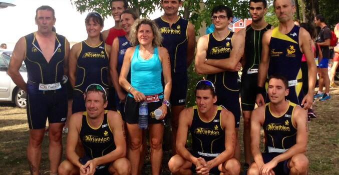 Le TCC se déplace en nombre pour la der du triathlon de Labège