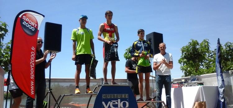 Triathlon de l'Isle Jourdain et Aquathlon de Narbonne