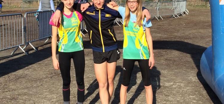 4 titres de champion départemental de cross pour les jeunes du club
