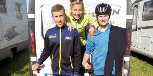 En route pour les Championnats de France de Triathlon à Montceau-les-Mines