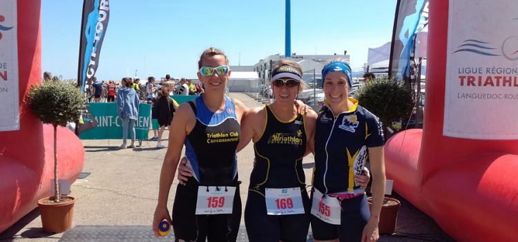 Premier triathlon de la région à St Cyprien