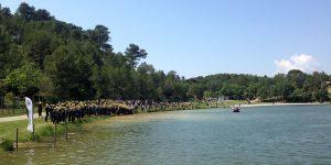 Beau temps sur le 31e Triathlon de Carcassonne