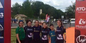 Demi-finale Jeunes Casteljaloux et Triathlon d'Argelès