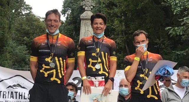 Le Triathlon de la Montagne Noire support du championnat régional Occitanie longue distance