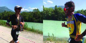 2  triathlètes Carcassonnais défient avec brio le mythique triathlon d'Embrunman