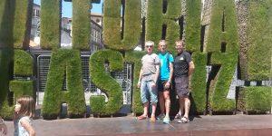 Les triathlètes d'Occitanie de retour de Vitoria Gasteiz